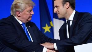 Macron, anunţ istoric