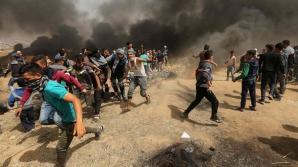 Probleme la graniţa Fâşiei Gaza cu Israelul: un palestinian împuşcat mortal, 170 răniţi