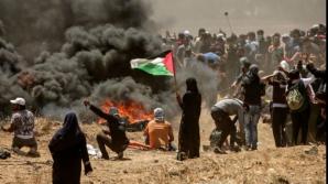 Proteste în Gaza