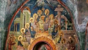 Astăzi este prima zi de Rusalii, mare sărbătoare creştină. Pogorârea Sfântului Duh