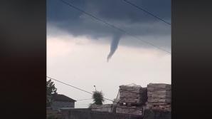 Fenomen rar în România: tornadă deasupra Timişoarei
