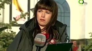 Prezentatoarea TV Maria Ryabova