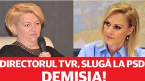 Șefa TVR, acuzată că a protejat-o pe Firea