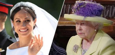 Mesajul ascuns pe care Regina a ţinut să-l transmită lui Harry şi miresei Meghan, prin hainele sale