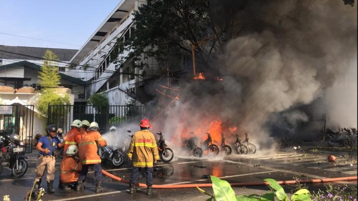 Atac cu bomba în Indonezia