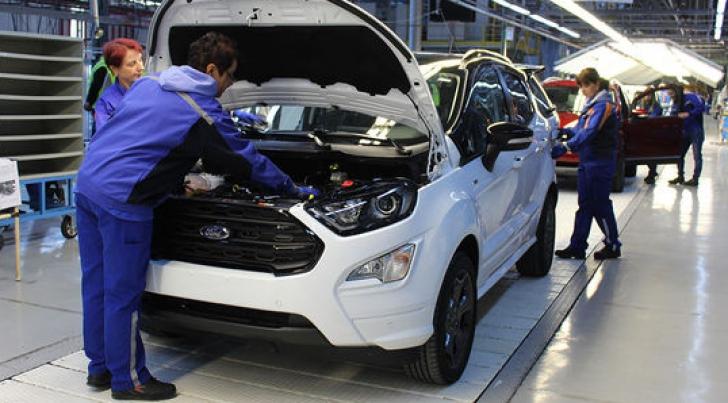 Ford produce un nou model la Craiova