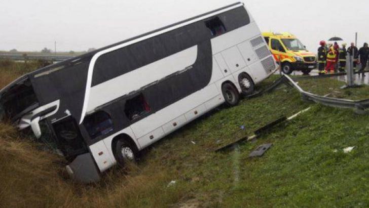 Accident cu autocar
