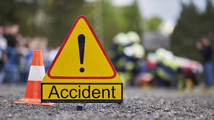 Accident mortal pe A1 Sibiu-Deva. Şoferul unei autoutilitare,proiectat din maşina care s-a răsturnat