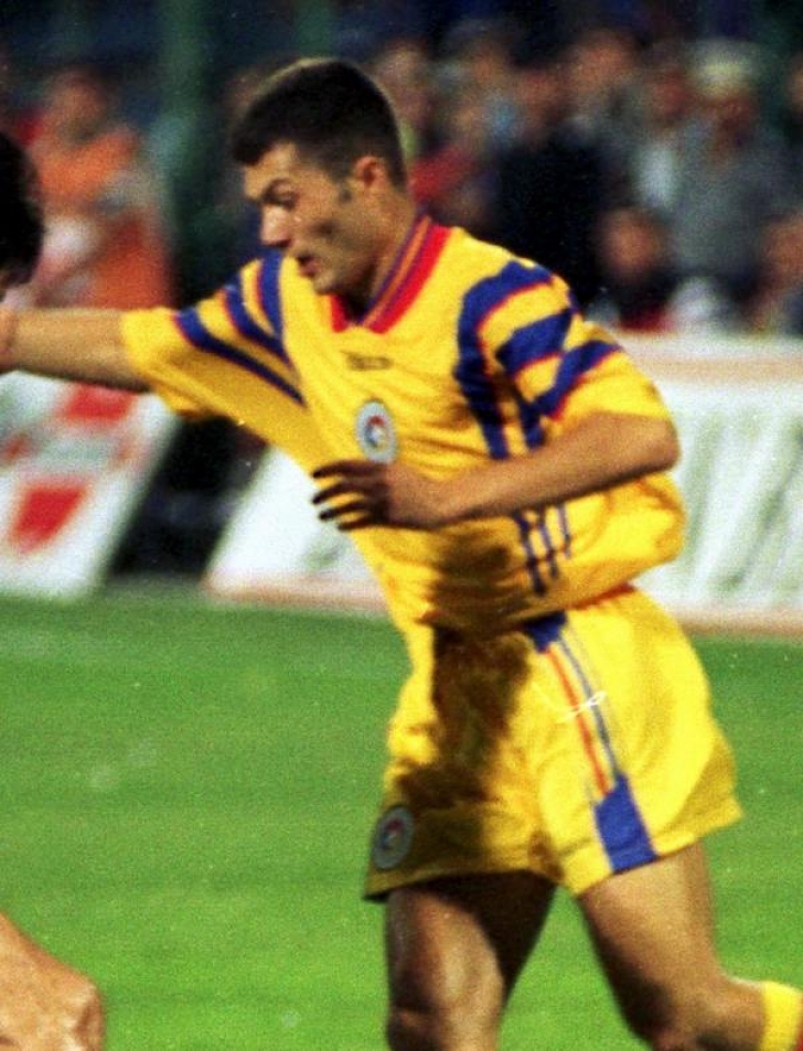 Adrian Ilie in tricoul nationalei Romaniei