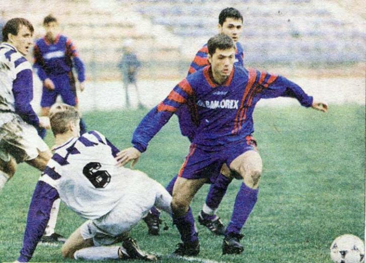 Adrian Ilie la Steaua