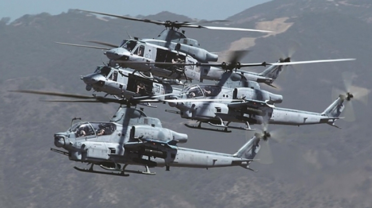 Statele Unite au aprobat vânzarea de elicoptere BELL AH-1Z către Bahrain