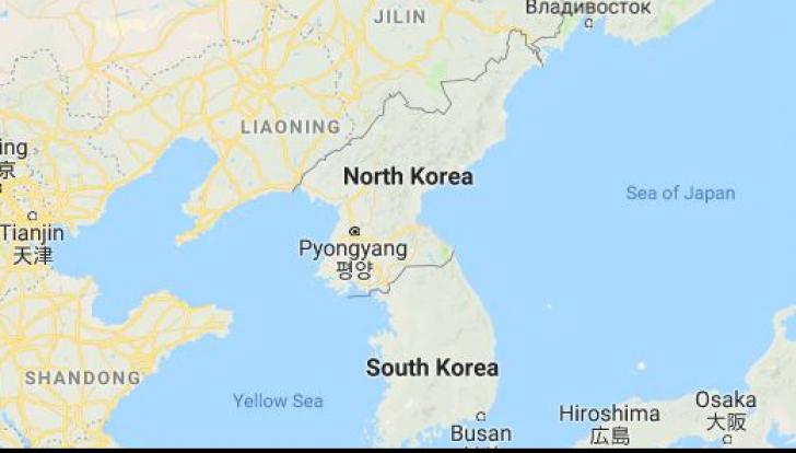 Tensiuni la granița dintre cele două Corei: Sud-coreean, împușcat de vecinii din Nord