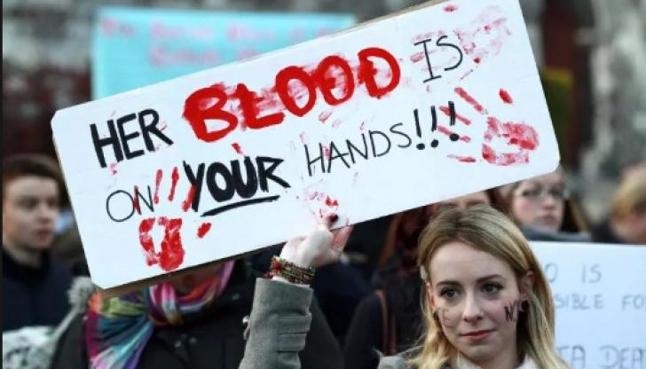 Referendum pe tema avortului în Irlanda