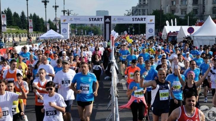 Restricții de circulație în București, sâmbătă și duminică, cu ocazia Semimaratonului Internațional