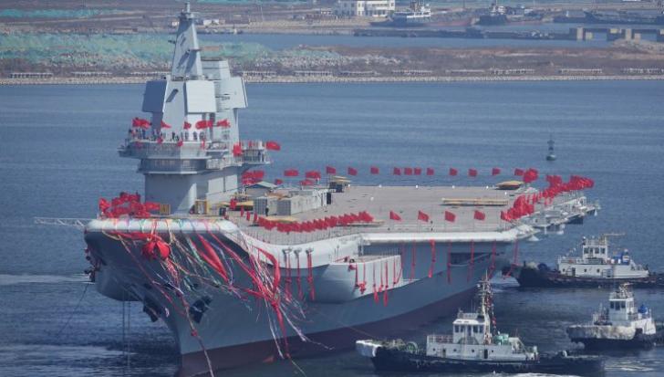 Primul portavion făcut în China