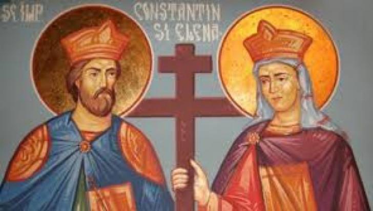 Sfinții Împărați Constantin şi Elena. Tradiţii și superstiţii