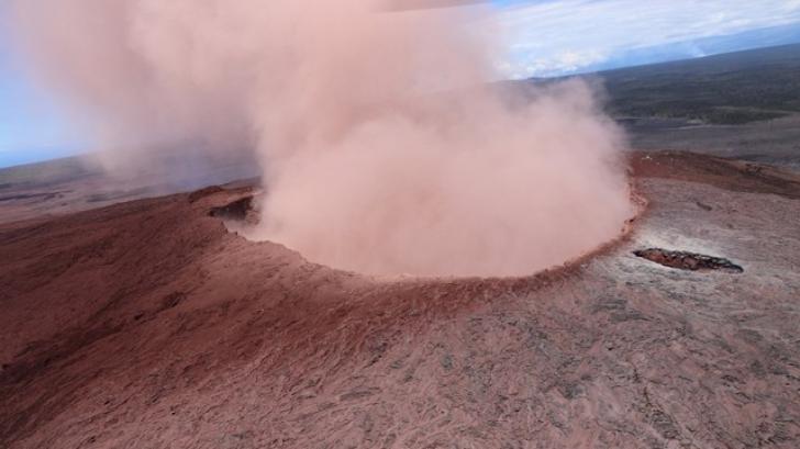 După erupţia vulcanului Kilauea - cutremur de 6,9 grade în Hawaii