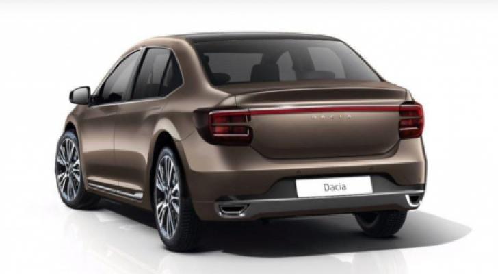 Dacia Logan. Cum arată Dacia Logan produsă de Mercedes