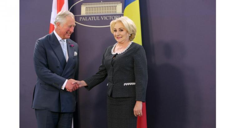 Ce am ratat din cauza scandalului CCR-Kovesi: Pozele lui Dăncilă cu prinţul Charles