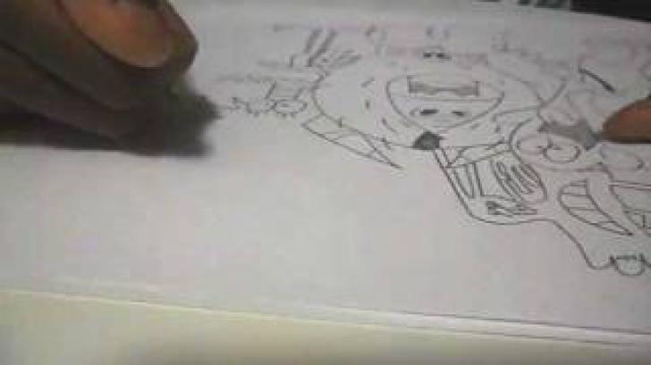 Desenul terifiant al unei fetițe de 3 ani. Pare ireal mesajul