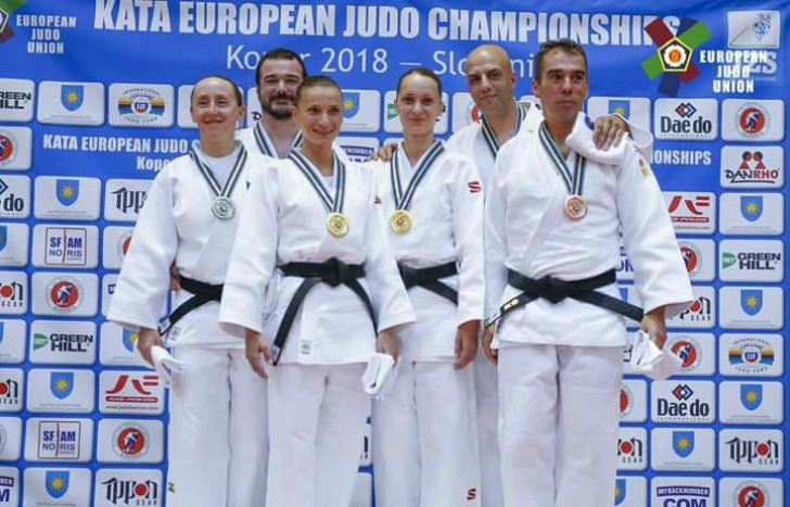 Performanţă senzaţională. Aur pentru România la judo kata