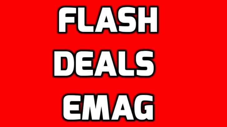 eMAG Flash Deals – Nu lasa sa iti scape printre degete ofertele astea mai rapide ca Speedy Gonzales