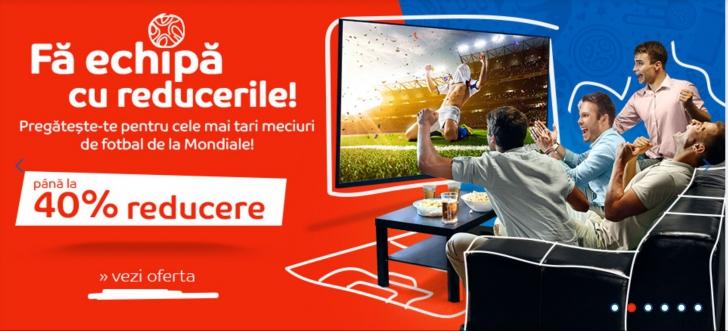 eMAG World Cup – Oferte mondiale de la cel mai mare retailer online din Romania