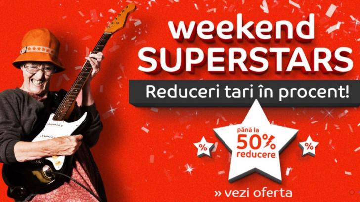 eMAG Weekend Superstars – Reduceri tari in procent! Pana la 50% discount