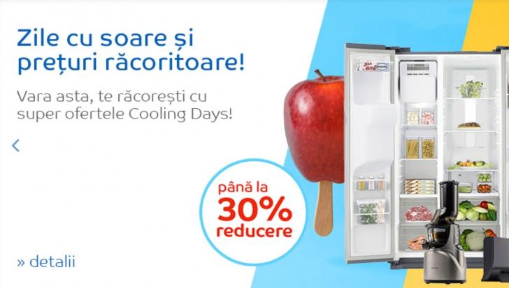 eMAG Cooling Days! Reduceri de pana la 30% pentru mai multe categorii de produse