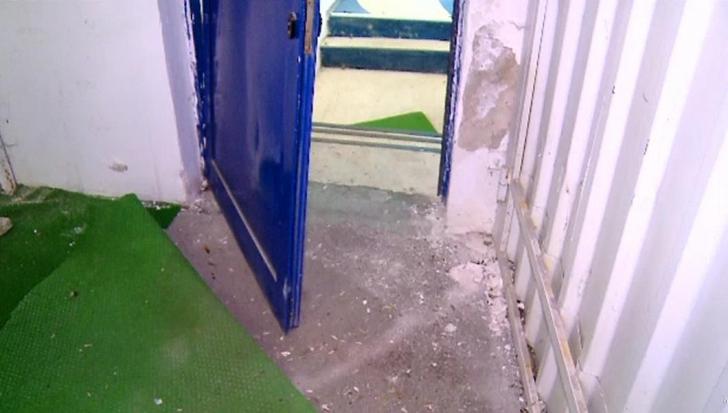 ŞOC! Jucătorii de la FCSB au distrus vestiarul de la Iaşi, după eşecul de luni. Imagini ireale