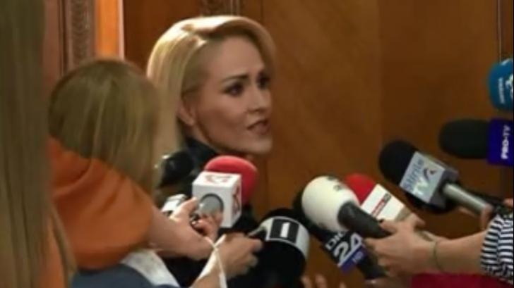 Gabriela Firea, nervoasă