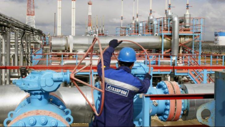 Gazprom mai dă un pic drumul la conducta cu gaze. Foto/Arhivă