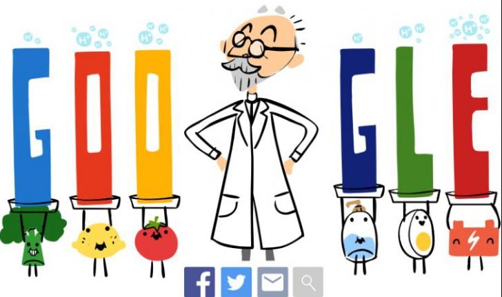 Google Doodle special - S. P. L. Sørensen