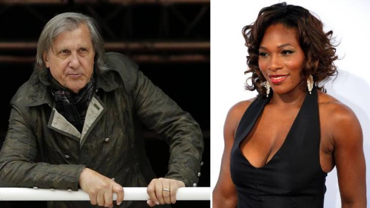 Ilie Năstase vs. Serena Williams. Ilie Năstase a atacat-o din nou pe Serena Williams