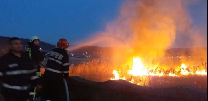 Incendiu lângă Transfăgărășan. Se acționează cu un elicopter de la M.A.I.