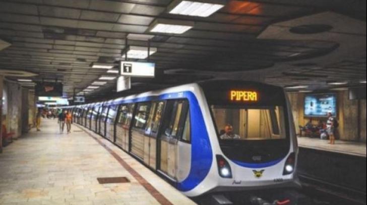 Incident la metrou. Circulația, întreruptă pe cea mai aglomerată magistrală