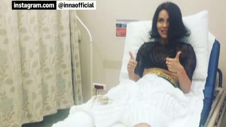 Momente cumplite pentru INNA. Cântăreaţa a ajuns de urgenţă la spital!