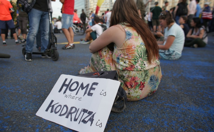 Revocarea lui Kovesi scoate iar românii în stradă! Proteste în Piaţa Victoriei şi în marile oraşe / Foto: Inquam Photos / Octav Ganea