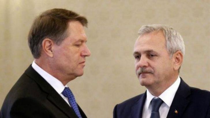 Iohannis, atac la PSD: Miting ca în vremea comunismului