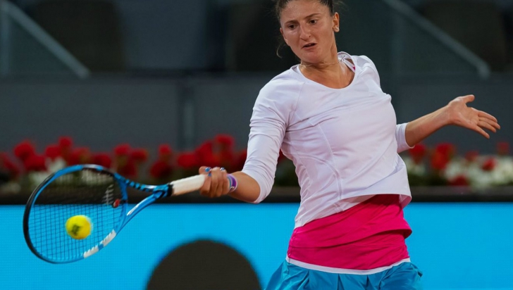WTA Madrid: Irina Begu vs Jelena Ostapenko 6-3, 6-3/ Begu, în turul al doilea la turație maximă