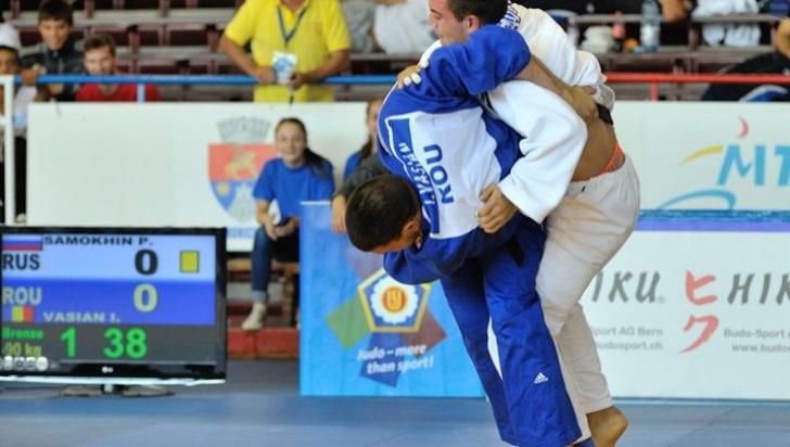 Primele medalii pentru sportivii români la Cupa Europeană de Judo pentru cadeți Under 18
