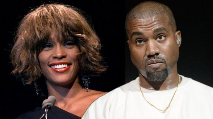 Bombă! Cum arăta baia lui Whitney Houston. Kanye West a plătit 85000 $ pentru această poză