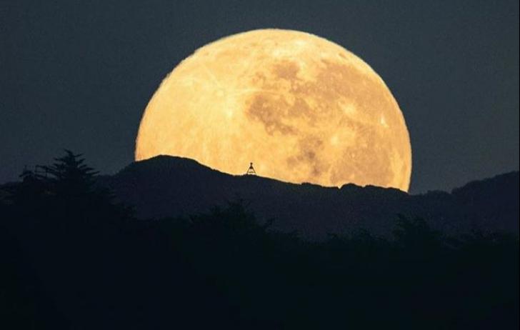 Luna plină în Noua Zeelandă