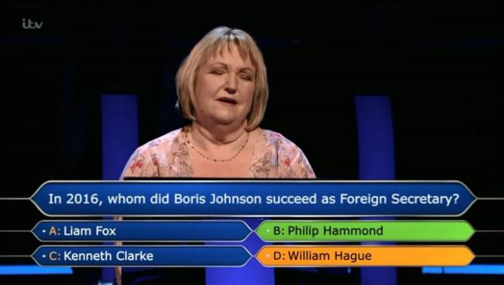 Vrei să fii miliardar? O concurentă a ignorat sfatul soțului și a pierdut. Care era răspunsul?