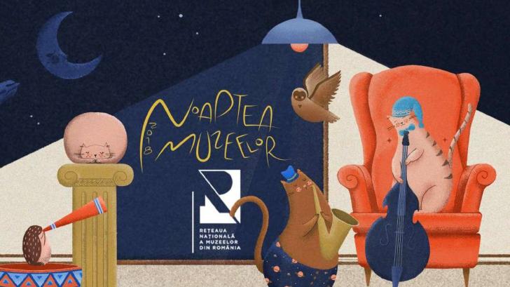 Noaptea muzeelor. Când va avea loc. Ce putem face o noapte întreagă în Bucureşti