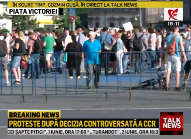 Revocarea lui Kovesi scoate iar românii în stradă! Protest în Piaţa Victoriei, din Bucureşti