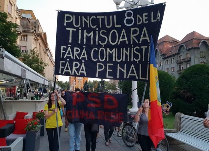 Revocarea lui Kovesi scoate iar românii în stradă! Protest în Piaţa Victoriei şi în marile oraşe / Foto: opiniatimisoarei.ro