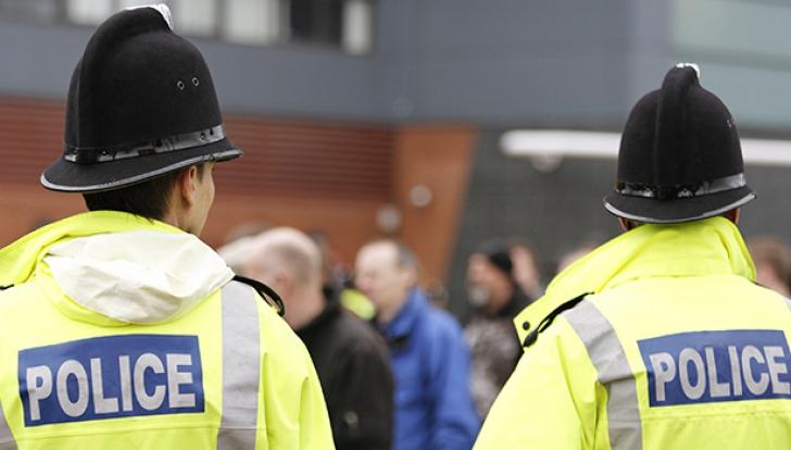 Incident armat în Marea Britanie