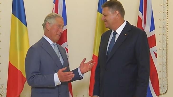 Prinţul Charles, primit astăzi de Iohannis la Cotroceni şi de Viorica Dăncilă la Guvern