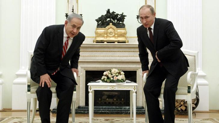 Netanyahu merge la Moscova să se întâlnească cu Putin